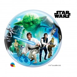 GLOBO BUBBLE SENCILLO STAR WARS