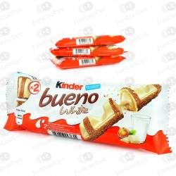 CHOCOLATINA KINDER BUENO WHITE