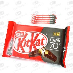 CHOCOLATINA KIT KAT DARK 70 %