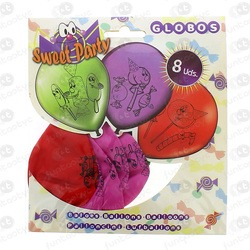 GLOBOS SWEET PARTY