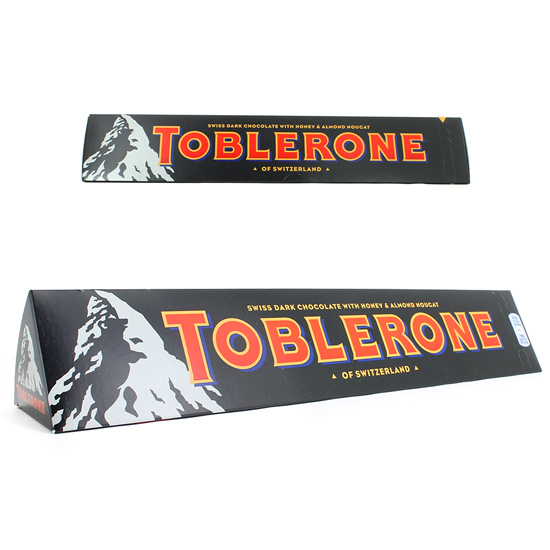 CHOCOLATINA TOBLERONE CHOCOLATE NEGRO