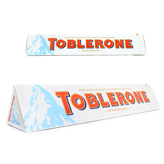 CHOCOLATINA TOBLERONE CHOCOLATE BLANCO