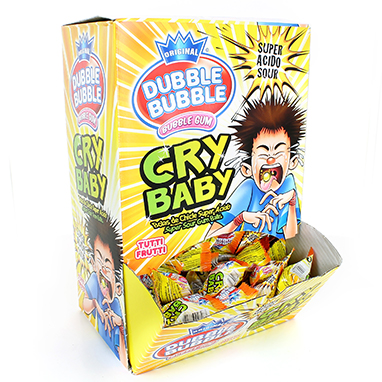 CHICLE DUBBLE CRY BABY