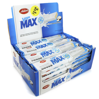 BARQUILLO VIP MAX XL CHOCOLATE BLANCO
