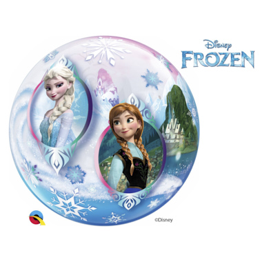 GLOBO BUBBLE SENCILLO FROZEN