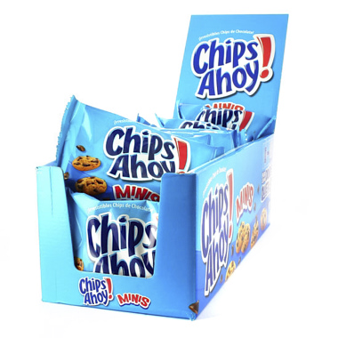 GALLETAS CHIP AHOY MINI BOLSITAS