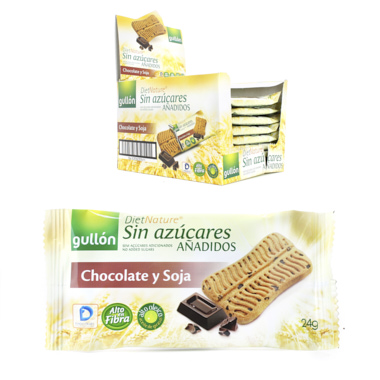 GULLON SOJA Y CHOCO DIET NATURE